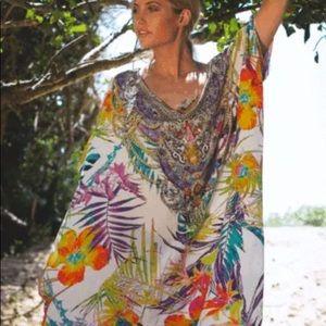 INOA Tropical 🌴 Silk Kaftan